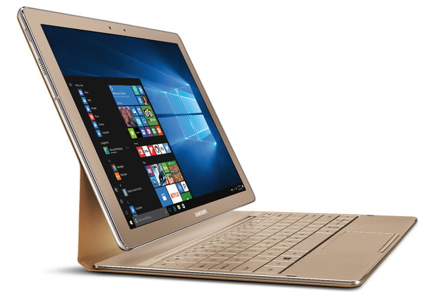 samsung galaxy tabpro s gold edition launched