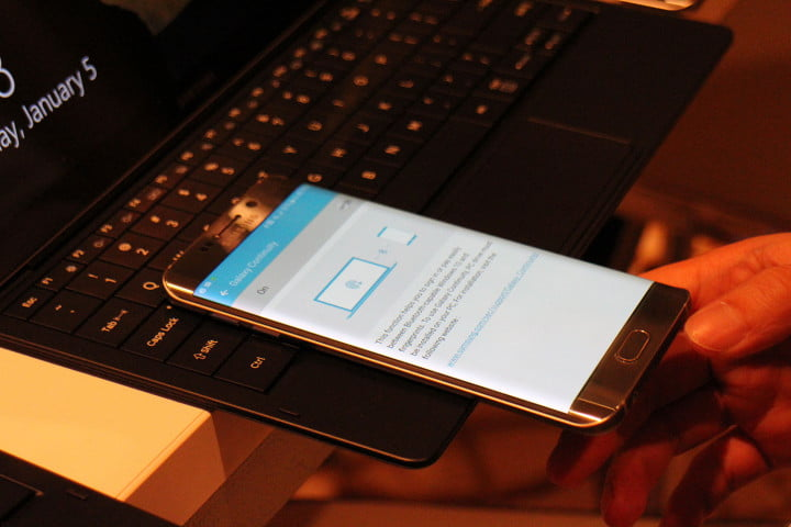 samsung tabpro s hands on ces 2016 galaxy 9790
