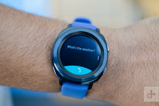 Samsung Gear Sport review weather