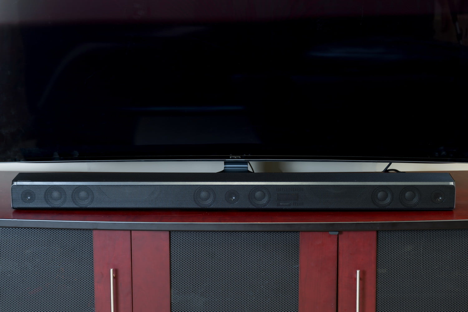 Tv Speaker Buying Guide Everything You Need To Know Digital Trends Wiring Outdoor Speakers With Volume Control A Soundbar Is The Most Common Type Of Supplementary Sound Solution Soundbars Are Easiest Devices Connect Your Because They Require Very Few