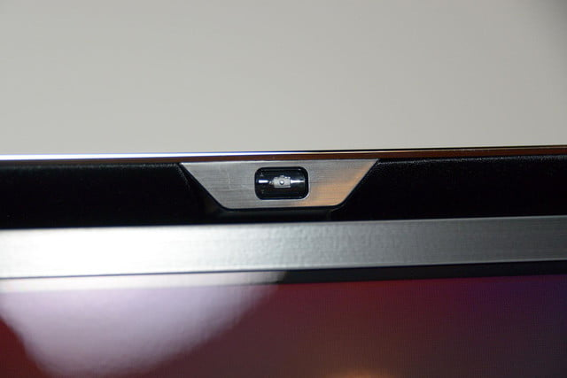 Samsung KN55S9C OLED TV front camera button