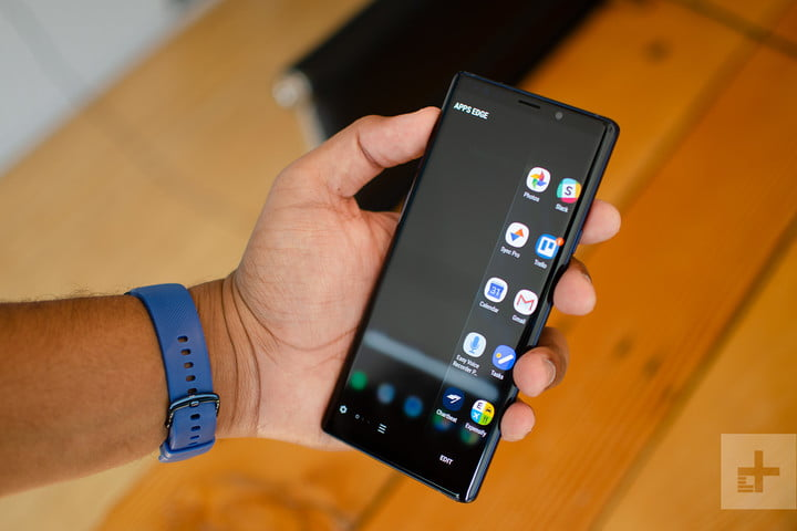 note 9 apps edge