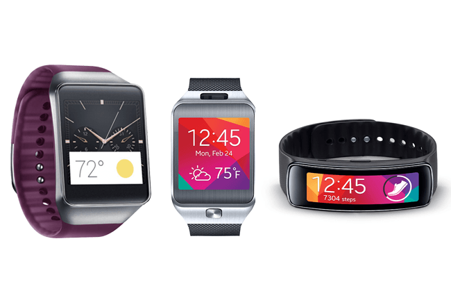 Battle of the Samsung Watches: Gear Live vs. Gear Fit vs. Gear 2
