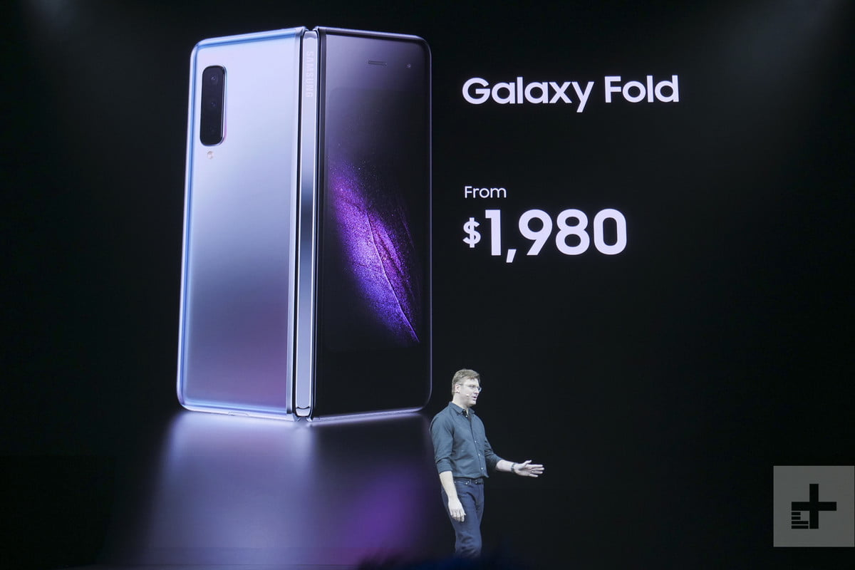 Samsung Galaxy Fold Announcement | Samsung Unpacked