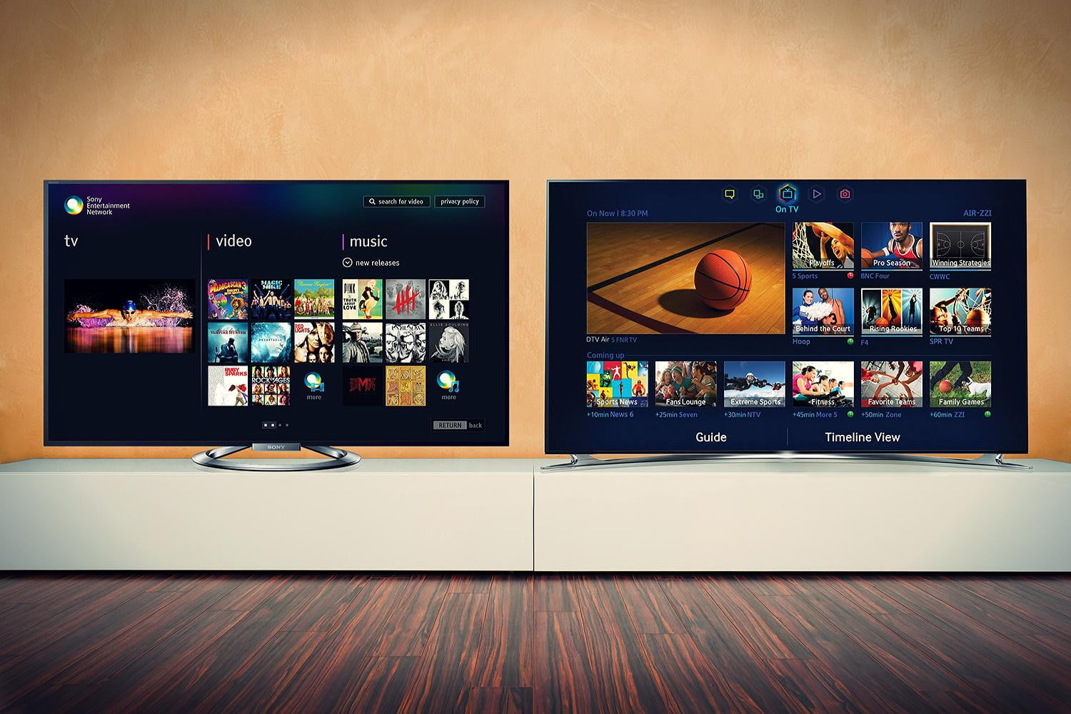 Sony vs  Samsung | Whose TV Belongs in Your Living Room? | Digital