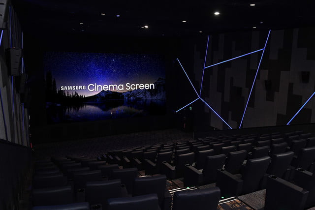 Samsung World First Cinema LED Display Super S Theater