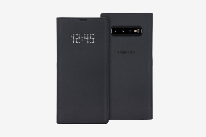 Official Samsung Galaxy S10 LED View Cover Case