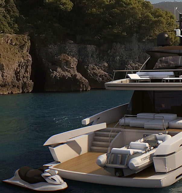 Sanlorenzo's SX88 yacht is designed for people who like open-space living