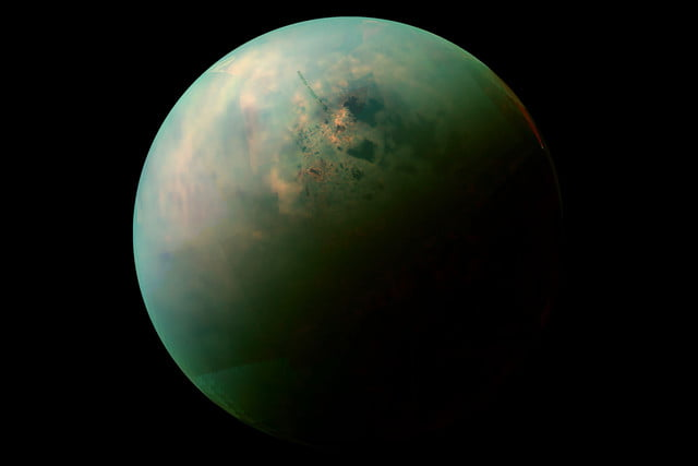 Saturn and Life on Titan