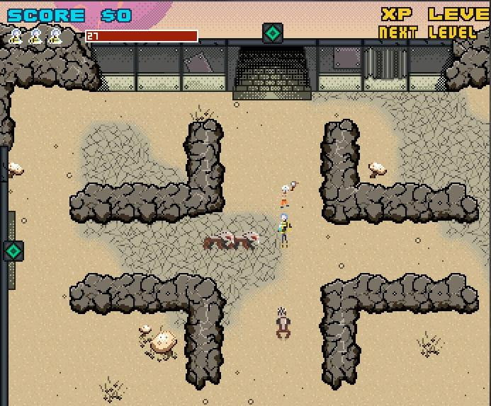 The Border Lands is Gearbox's retro-style Borderlands 2