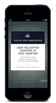 In New York Private Car Service App Uber Enticed Fans With Visions Of Choppering Into The Hamptons Without Having To Deal Headache Navigating A