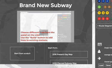 Brand New Subway Map.Brand New Subway Lets You Redesign The Nyc Subway Digital Trends