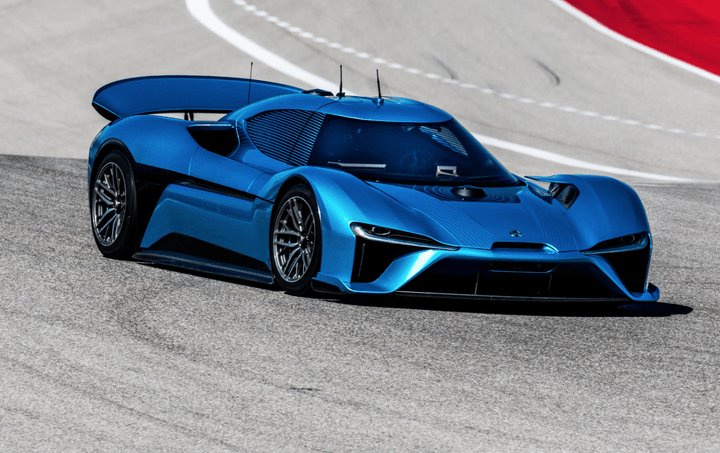 The Nio EP9 is not only the fastest electric car, it's the fastest self-driving car