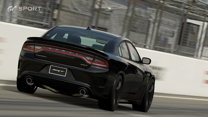 how gran turismo sport makes cars look awesome with hdr screen gts dodge charger srt hellcat 2015 02