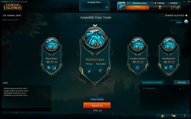 league of legends 2016 update select 1