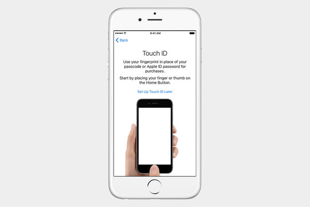 guide to ios set up iphone touch id
