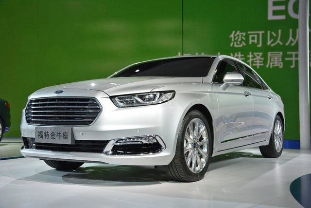 next ford taurus official pictures specs and performance shanghai 4