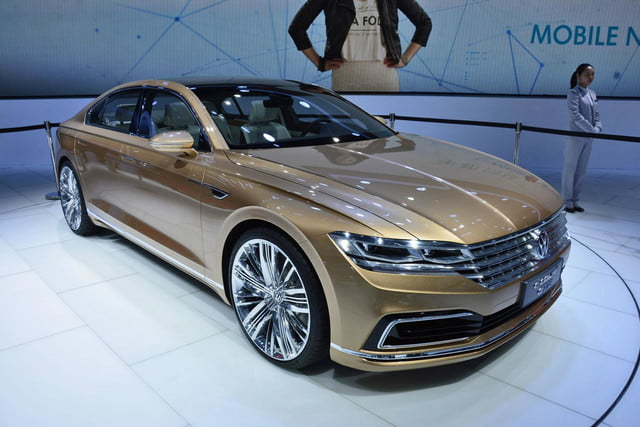 volkswagen c coupe gte concept official pictures and specs shanghai 1