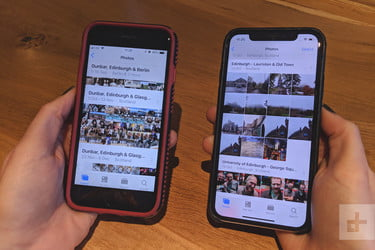 How to transfer photos from my old phone to iphone