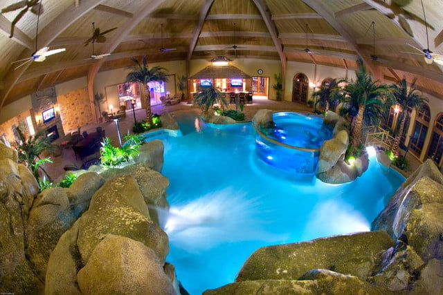 homes with their own shark tanks shehan pools 8