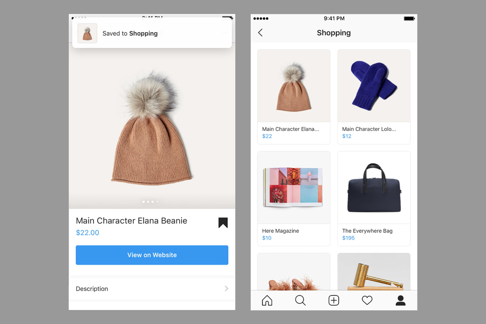 75510042da Build a wish list and shop videos with Instagram's latest shopping update