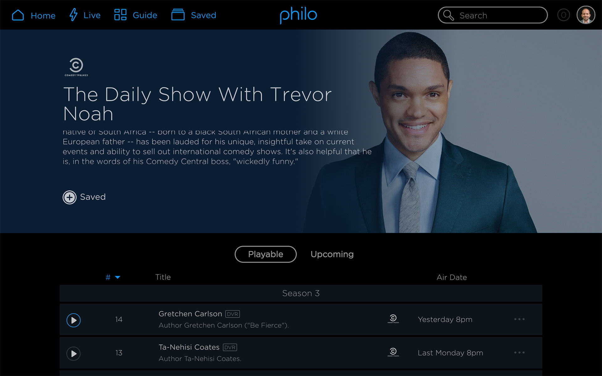 philo tv channels pricing features show page thedailyshow