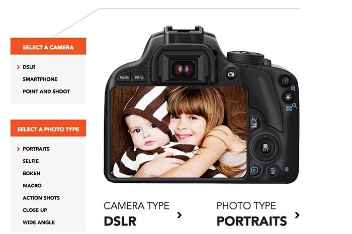 Shutterfly guide shows you 'how to take the perfect photo' with any camera