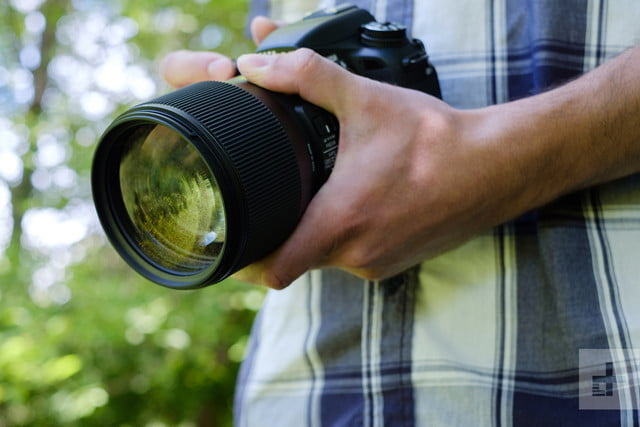 Sigma 135mm F1.8 Art Lens Review Front Element