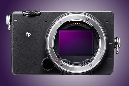 Under 1 pound, Sigma Fp is the world's smallest full-frame camera