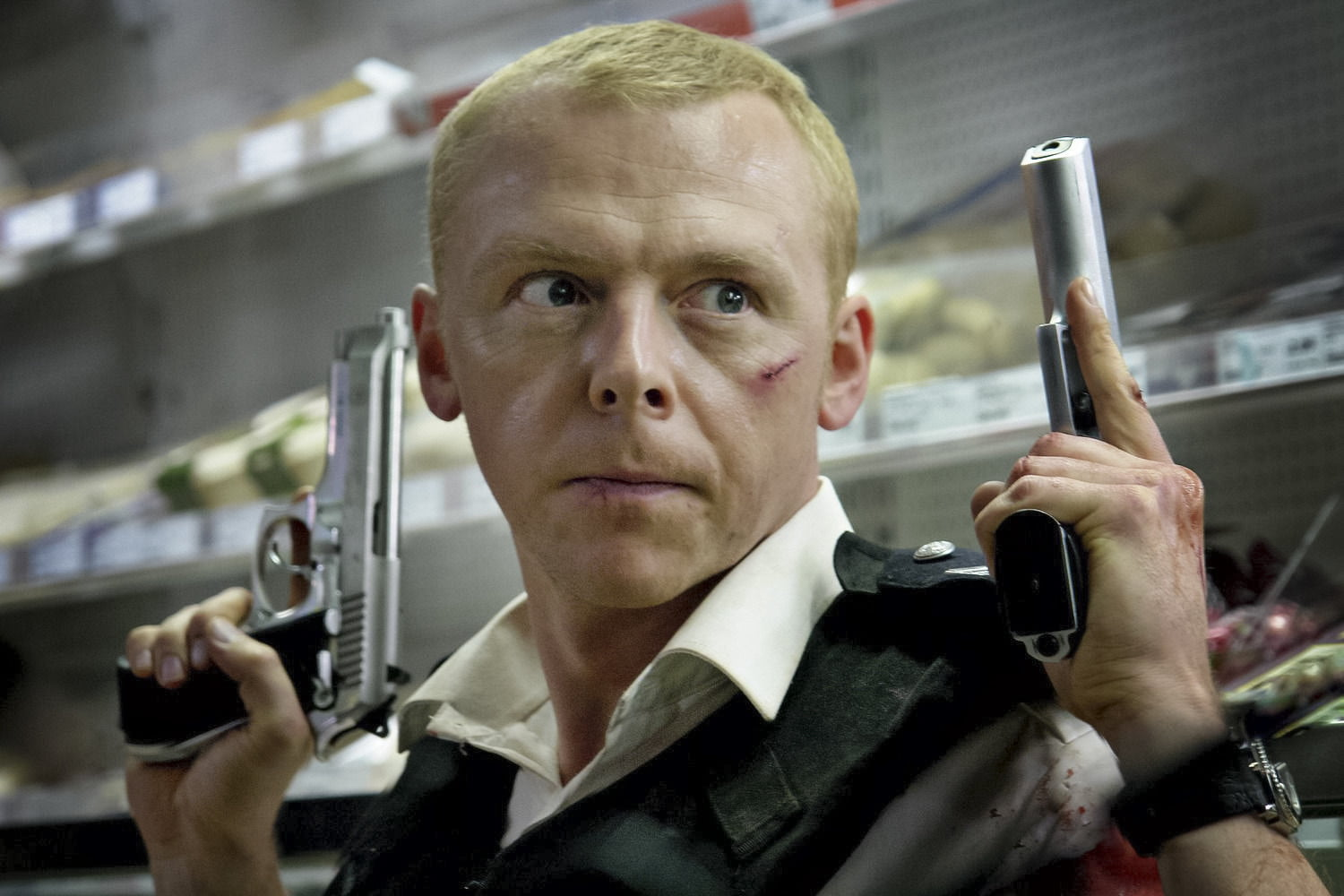 Simon Pegg on humor, horror, a 'Hot Fuzz' TV show, and a Tarantino Star Trek