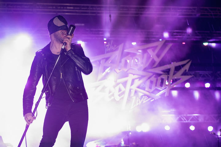 The Bloody Beetroots Sir Bob Cornelius Rifo croon