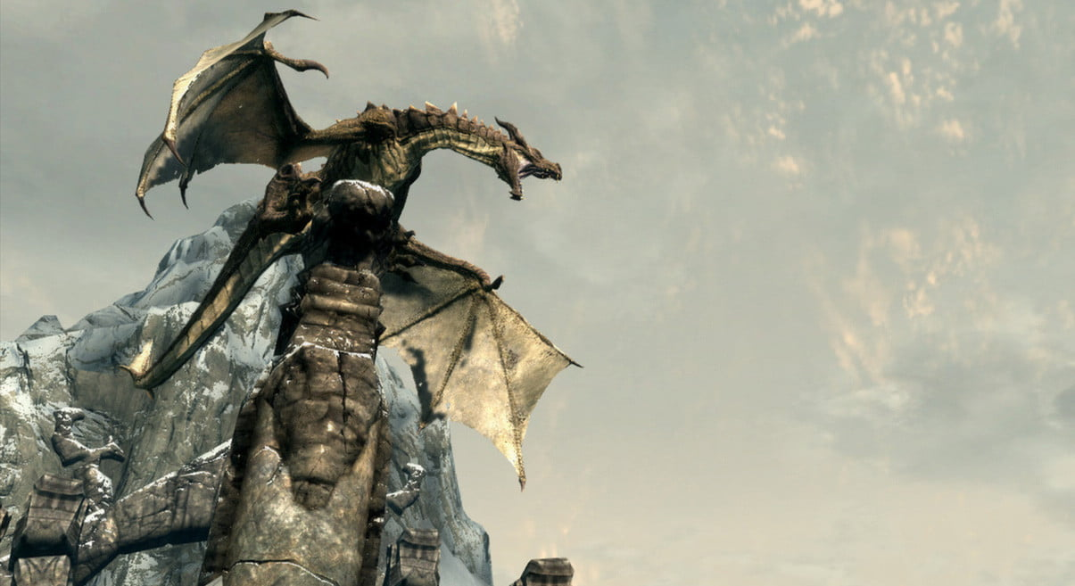Improved HD graphics follow Skyrim's Dragonborn add-on to the PC