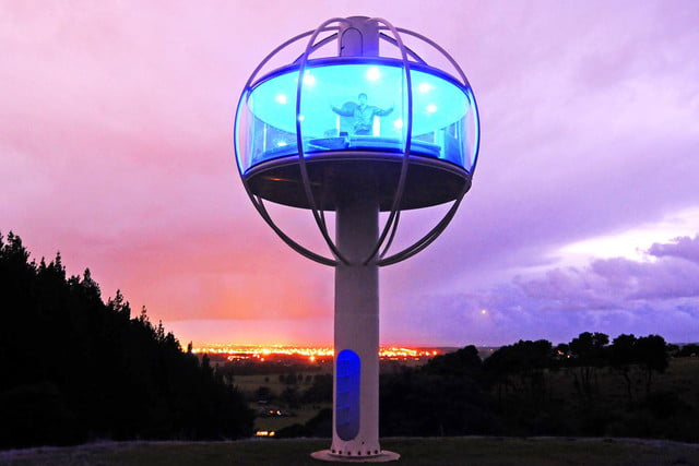 skysphere is a voice controlled man cave 33 feet in the air 8