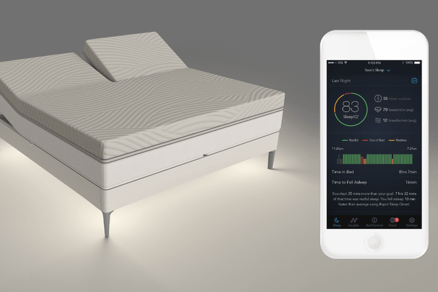 The Sleep Number 360 Smart Bed Stops Your Snores | Digital ...