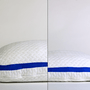 sleepsmart pillow side sleeper inflated vs deflated comparison