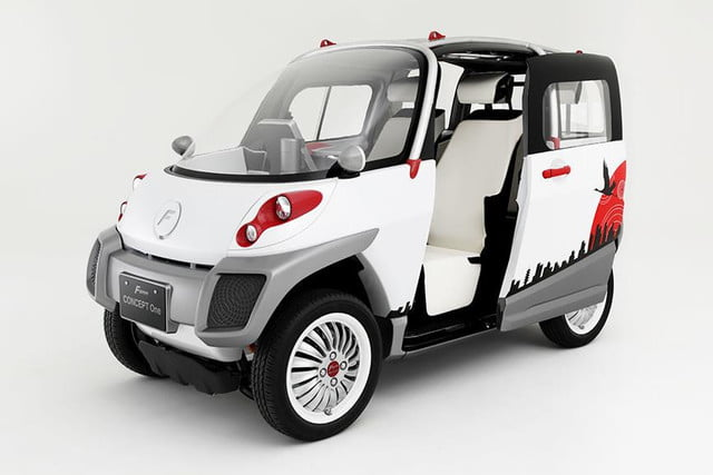 Fomm Concept One Electric Car Helps You Survive A Flood Digital