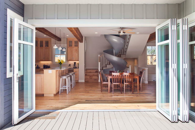 houses with amazing indoor slides sliding into home 151