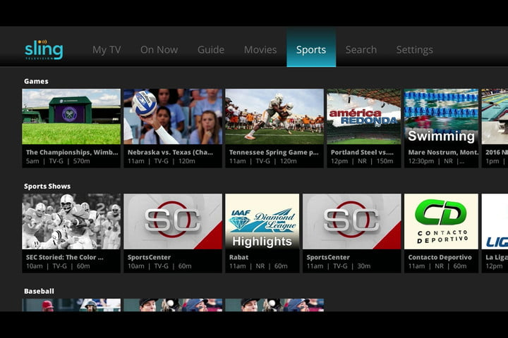 sling tv discounts extras packages new ui roku 4