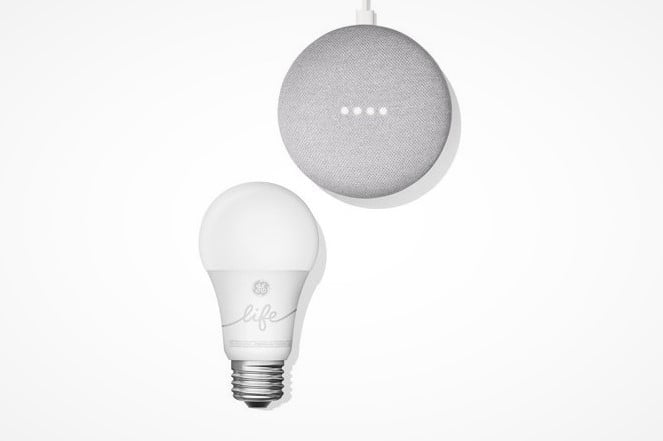 walmart google home mini starter kits smart lighting