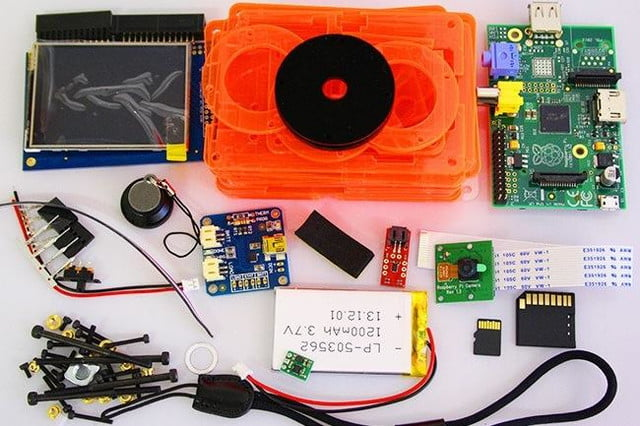 snappicam raspberry pi interchangeable lens camera hack together 1