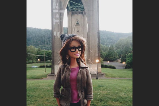 portlands hipster barbie is just too cool socality 0018