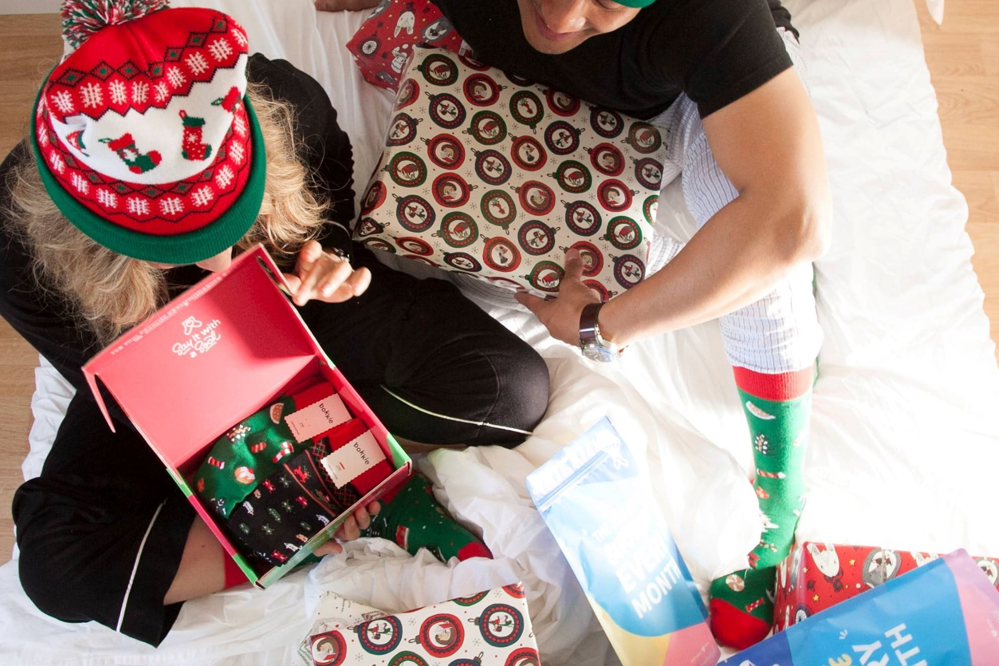 holiday subscription box deals for last minute gifts socks