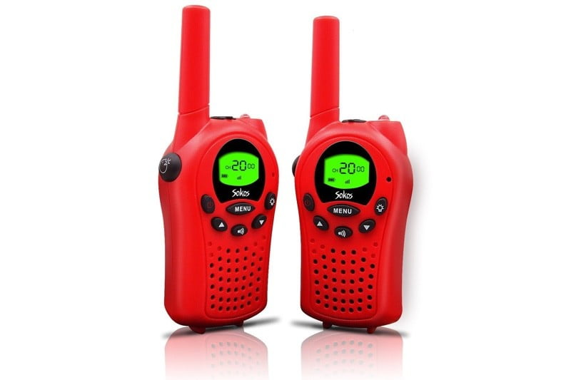 Sokos walkie talkie for kids