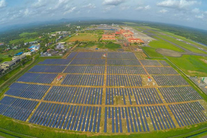 India is now home to the world's first airport that runs entirely on solar power