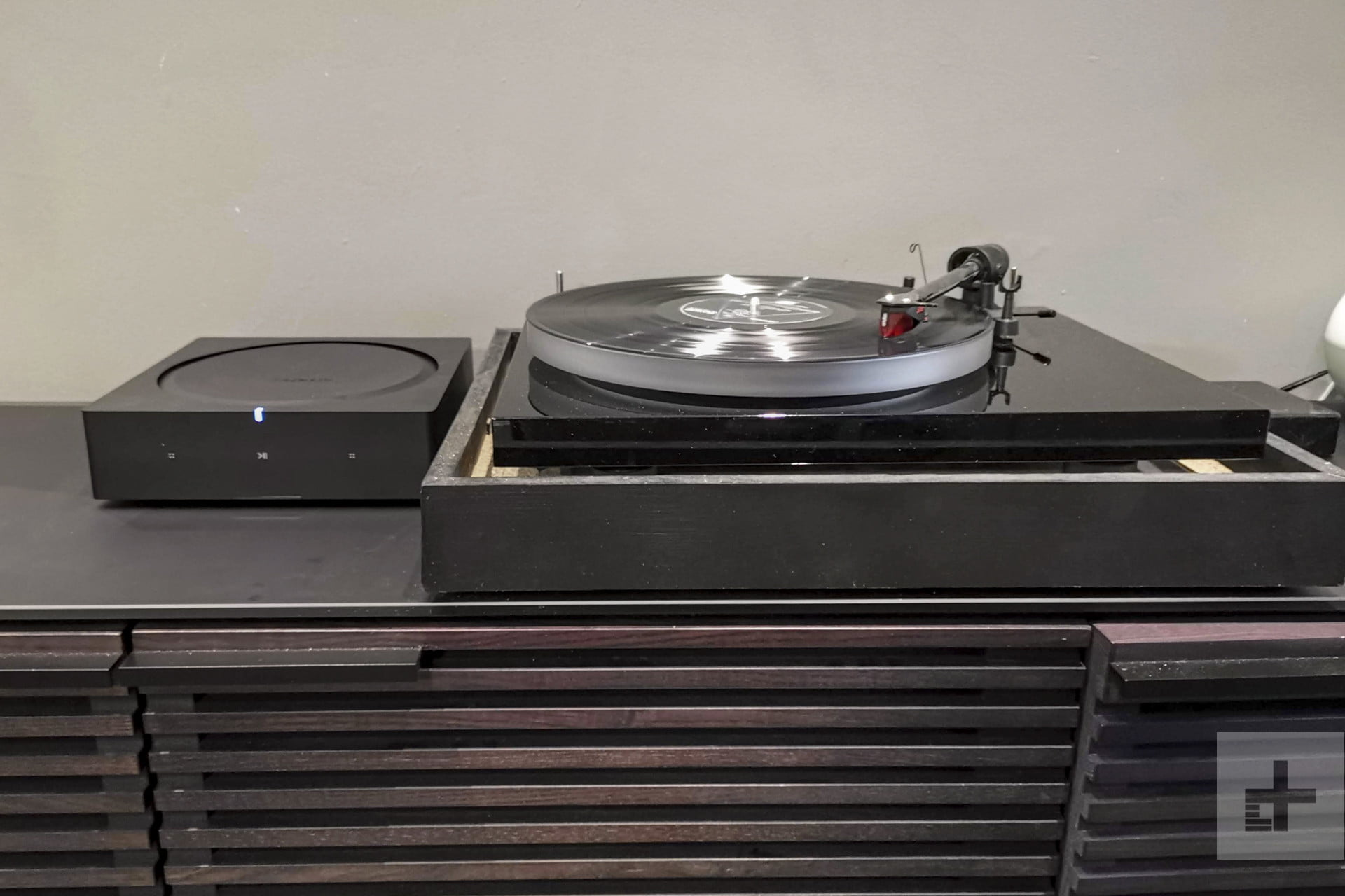hook up turntable to sonos