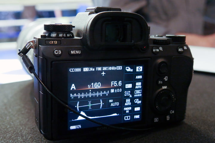 sony a9 full frame camera announced hands on 7