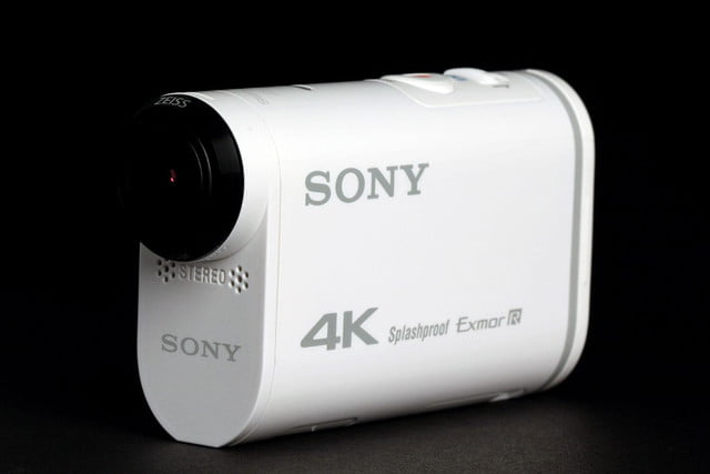 Sony Action Cam 4K front angle