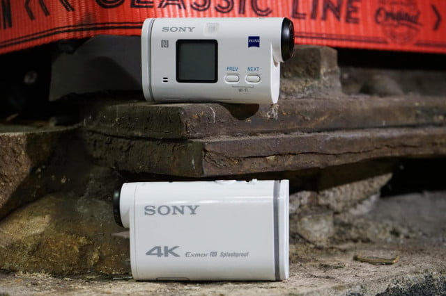 sony action cam as200v and x1000v ces 2015 2