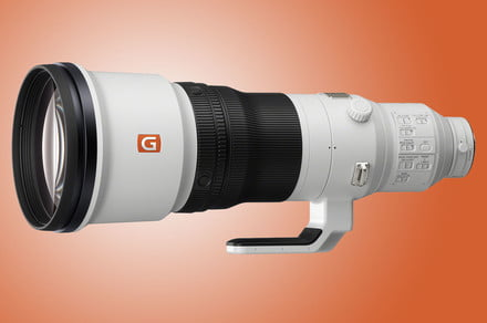 Sony's new full-frame 600mm f/4 is a $13,000 monster of a lens