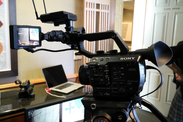 sonys compact 4k super 35mm camcorder will take your youtube videos to next level sony fs5 1